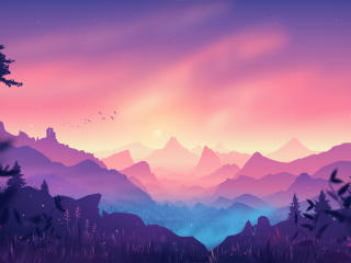 4K Beautiful Landscape Digital Art wallpaper