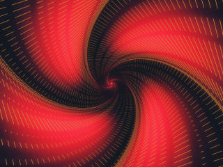 4K Black Red Hyphen Swirl wallpaper