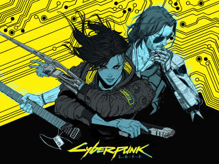 4K Cyberpunk 2077 Cool Art wallpaper