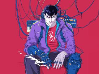 4K Cyberpunk Berserk wallpaper