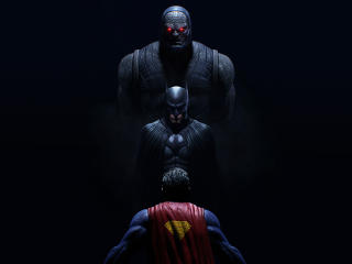 4K Darkseid Batman Vs Superman wallpaper