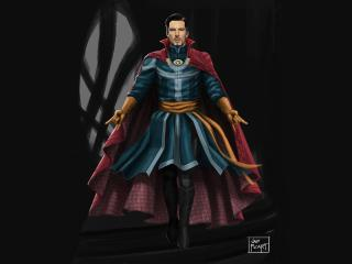 4K Doctor Strange FanArt wallpaper