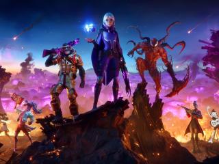 4K Fortnite Season 8 wallpaper
