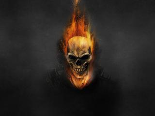 4K Ghostrider Art wallpaper