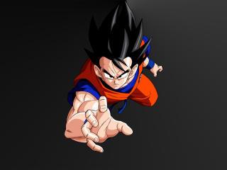 4K Goku Minimal wallpaper