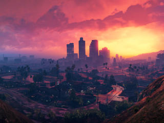 4K Grand Theft Auto V Scenery image