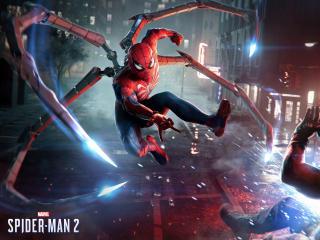 4K HD Marvel's Spider-Man 2 wallpaper