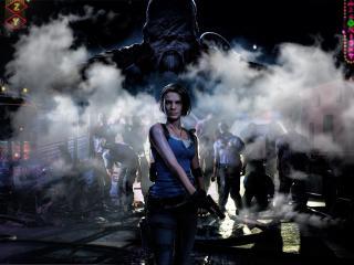 4K Jill Valentine Resident Evil 3 wallpaper
