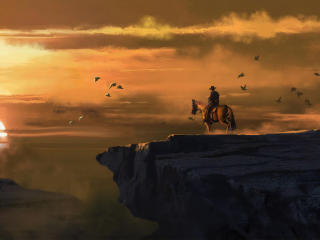 4k Landscape From Red Dead Redemption wallpaper