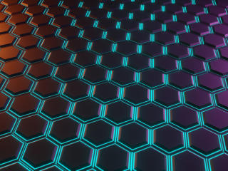 4K New Hexagon Pattern wallpaper