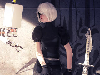 4K Nier Automata Game Art wallpaper
