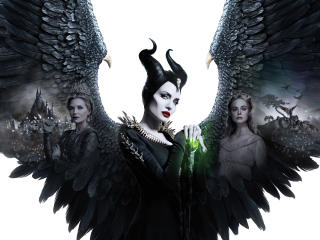 4K Poster Of Maleficent 2 wallpaper