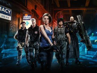 4K Resident Evil 3 2021 wallpaper