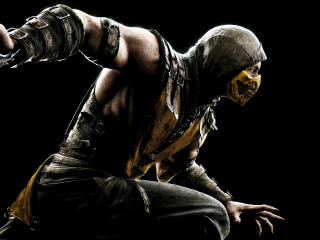 4K Scorpion Mortal Kombat 11 wallpaper