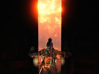 4K Sekiro Shadows Die Twice Door Opening wallpaper