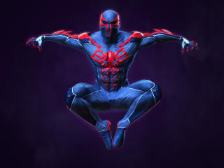 4k Spider Man Costume 2020 Digital wallpaper