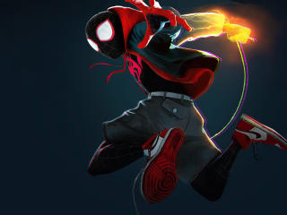 4K Spider-Man Miles Morales 2020 wallpaper