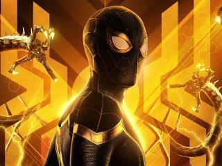 4K Spider-Man No Way Home Superhero wallpaper