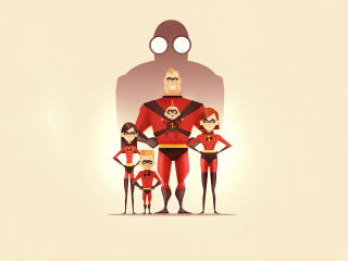 4K The Incredibles 2 wallpaper