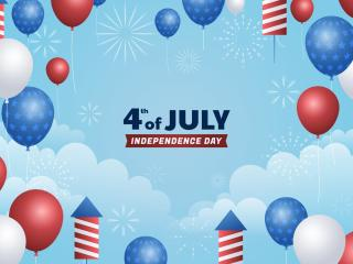 4th Of July Greeting wallpaper