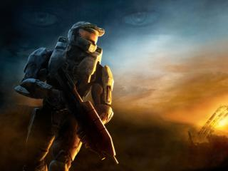 8K Halo 3 wallpaper