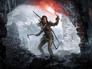 8K Rise of the Tomb Raider wallpaper