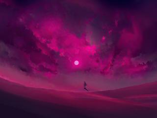 A Desert By Artist Cool wallpaper