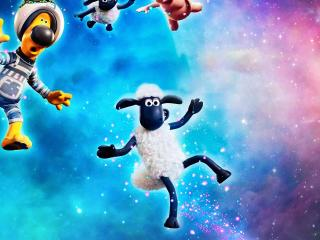 A Shaun the Sheep Movie Farmageddon wallpaper