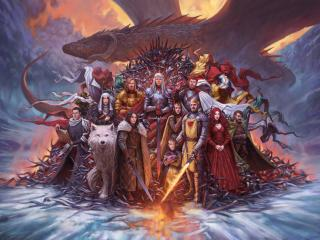 A Song Of Ice And Fire GOT wallpaper