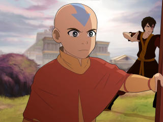 Aang & Zuko Avatar wallpaper