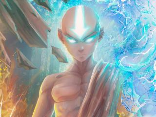 Aang Fan Digital Art Avatar wallpaper
