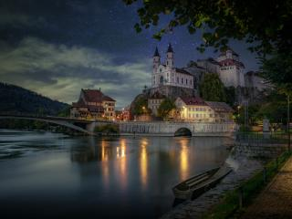 Aarburg Castle Switzerland wallpaper