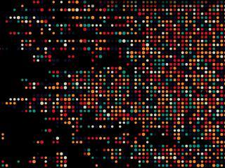 Abstract 4K Dots Minimal wallpaper