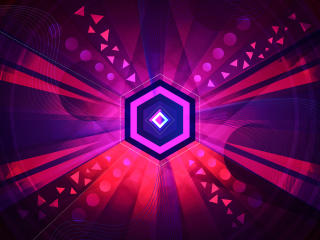 Abstract Octagon Vector wallpaper