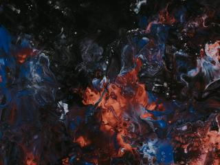 Abstract Paint 4k 2021 wallpaper