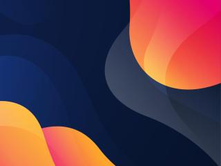 Abstract Shapes 2021 Minimalist wallpaper