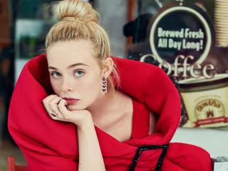 Actress Elle Fanning 2020 wallpaper