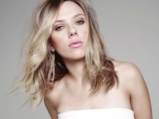 Actress Scarlett Johansson Blonde 2020 wallpaper