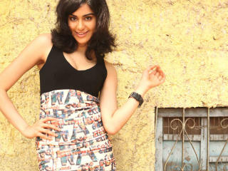 Adah Sharma In Dress  wallpaper