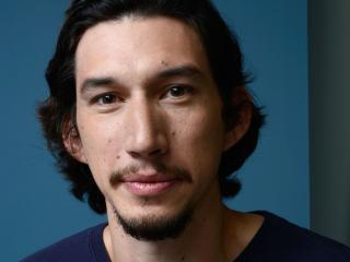 adam driver, actor, face wallpaper