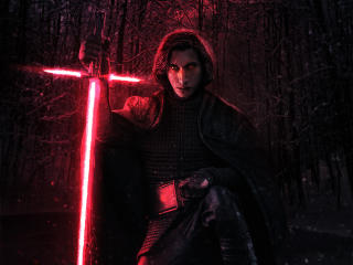 Adam Driver Kylo Ren wallpaper
