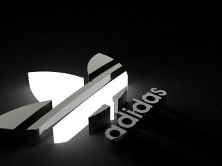 adidas, logo, brand wallpaper