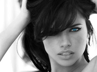 Adriana Lima Eyes Color wallpaper