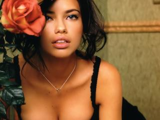 Adriana Lima Hottest Cleavage Photos HD wallpaper