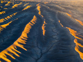 Aerial View From Utah Desert wallpaper