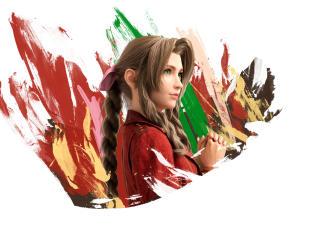 Aerith Final Fantasy VII Remake wallpaper
