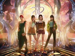 Aespa HD Cool K Pop Singers wallpaper