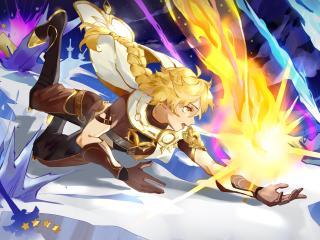 Aether Art Genshin Impact Gaming wallpaper