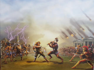 Age of Mythology Game Poster wallpaper