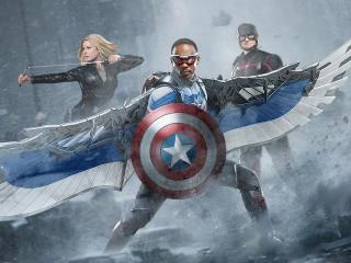 Agent Captain America 2 wallpaper